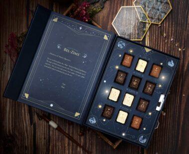 星座主題朱古力夜燈禮盒☪️ 早鳥價即減$100📢 香港製造 沿用比利時🇧🇪原料🍫